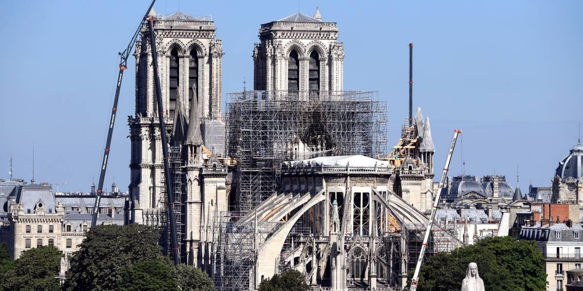 Crece angustia por contaminación de plomo tras incendio en Notre Dame