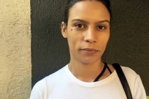 Thais de Oliveira Silva, 27 anos, sub-chef de cozinha, fumante