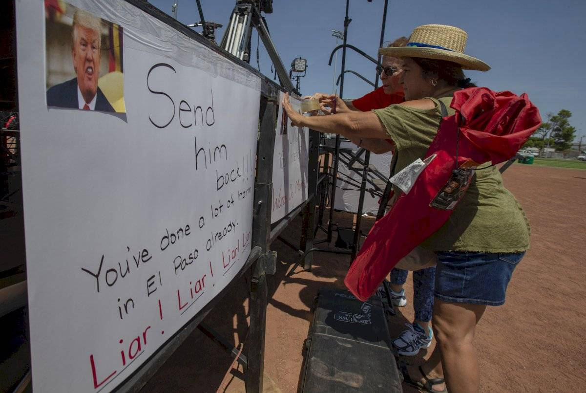 Manifestaciones contra Donald Trump