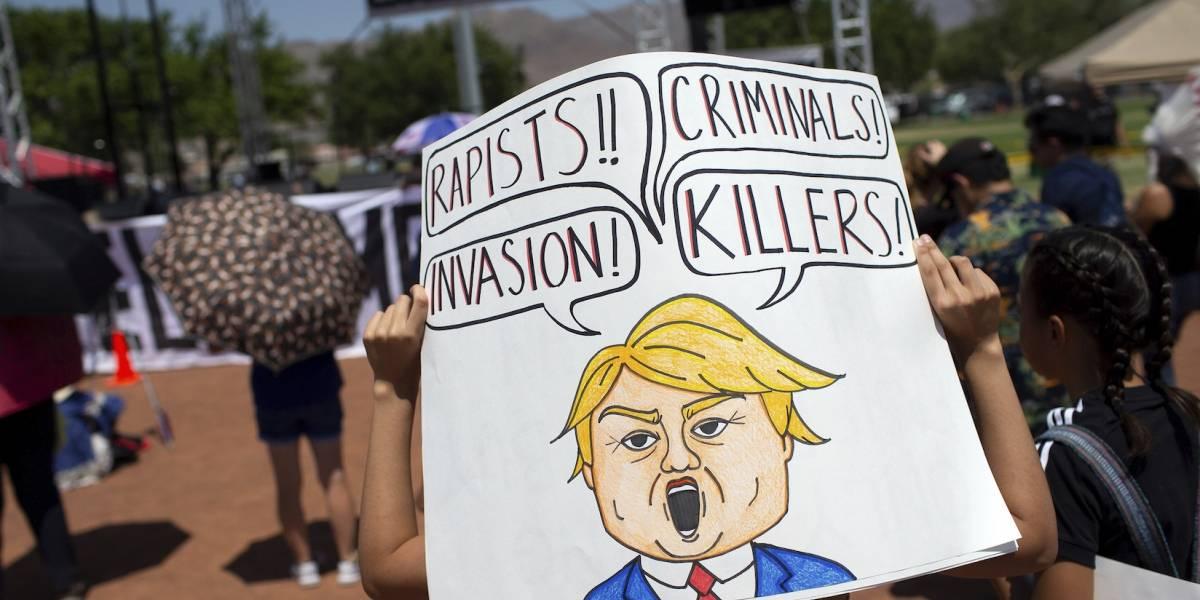 Donald Trump visita zona del tiroteo en El Paso, Texas