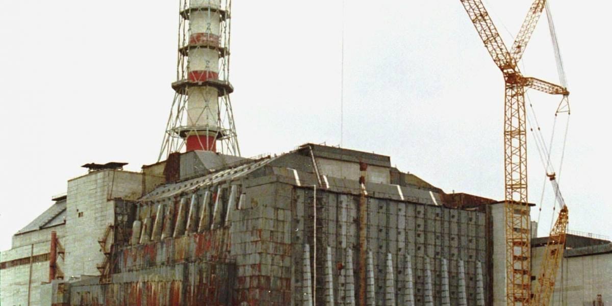 Así tendrán que desmantelar el primer sarcófago de Chernobyl