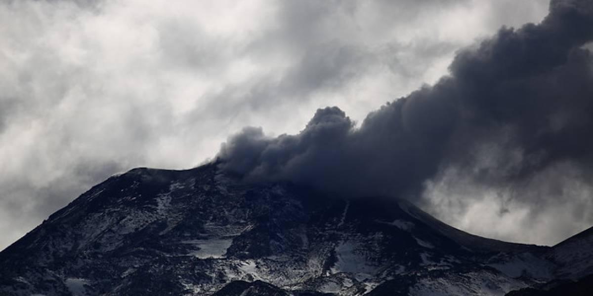 Registran nuevo evento explosivo en los Nevados de Chillán tras sismo de largo periodo