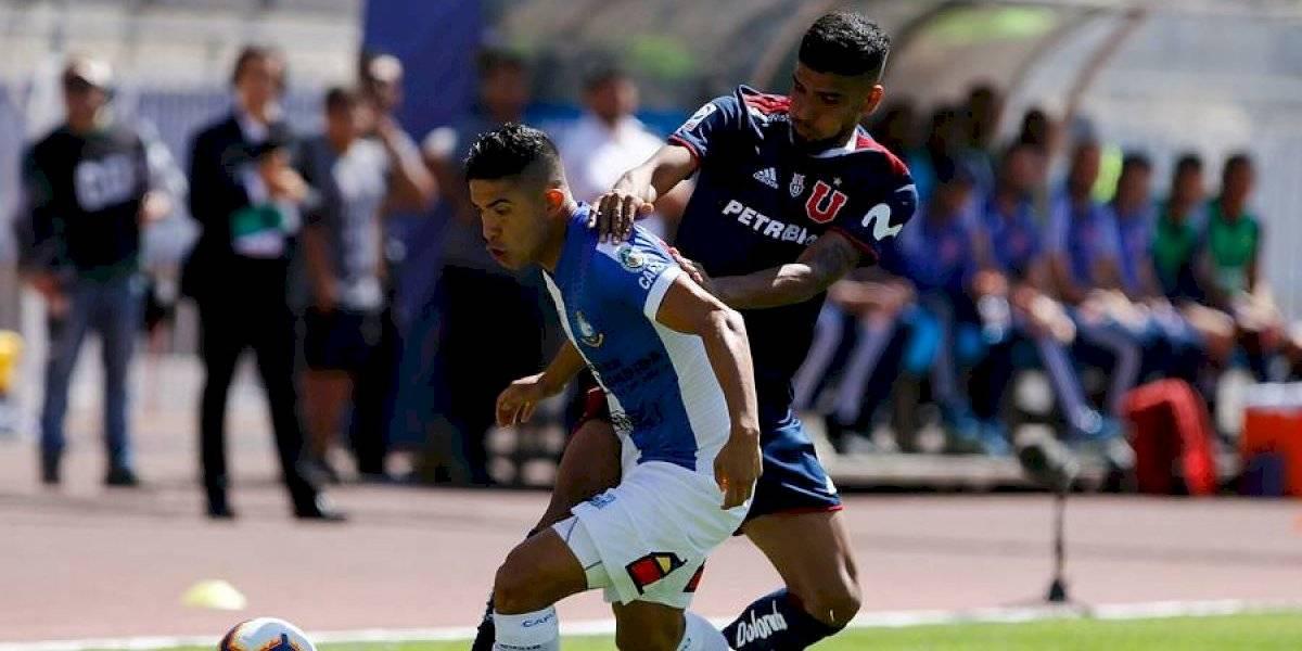 """Felipe Flores """"calienta"""" la """"final"""" entre la U y Antofagasta: """"Quiero ganarles, un triunfo nuestro los hundirá más"""""""