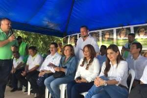 candidata Sandra Torres realiza gira en Jutiapa