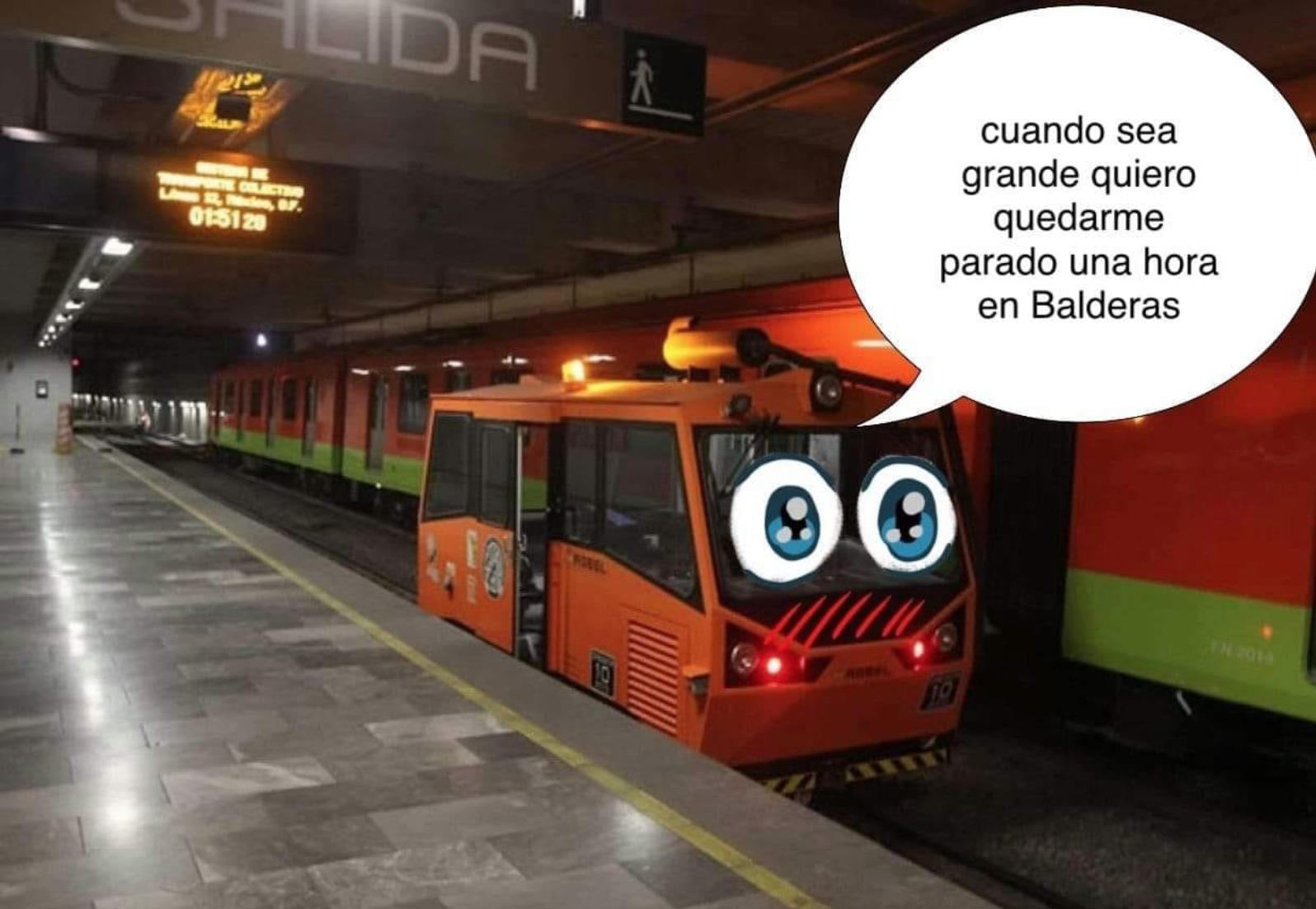 """México: ¿Bebé Metro? Para esto sirve realmente el """"mini tren"""" que se ha viralizado"""