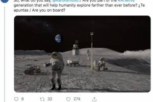 La NASA troleó a Karol G por el contenido de un Tuit dedicado a Anuel AA