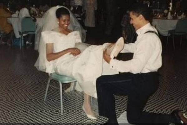 matrimonio obama