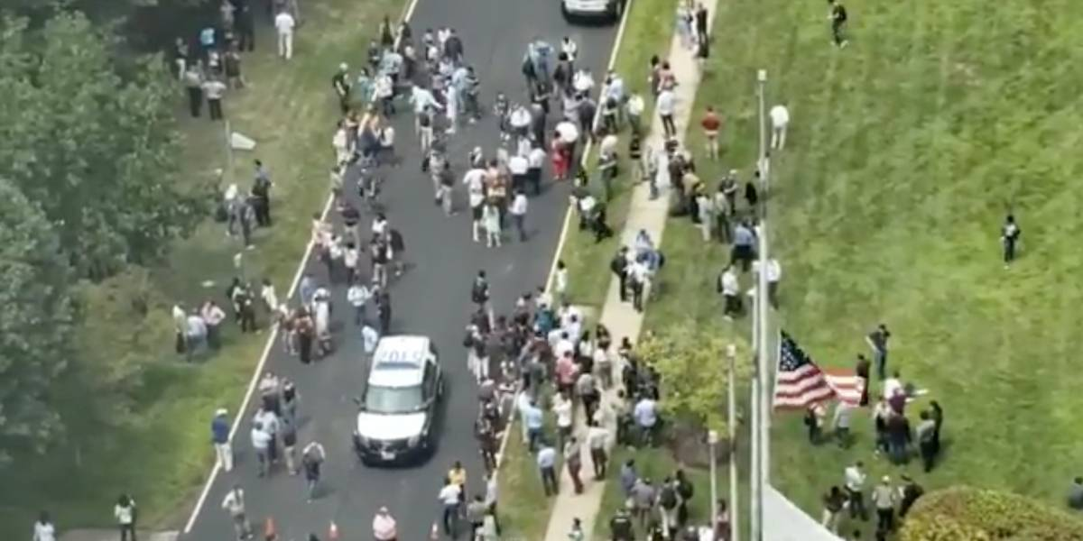 """""""No tenemos ninguna evidencia de que haya ocurrido un delito"""": descartan que hombre armado estuviera en las dependencias del diario USA Today en Virginia"""