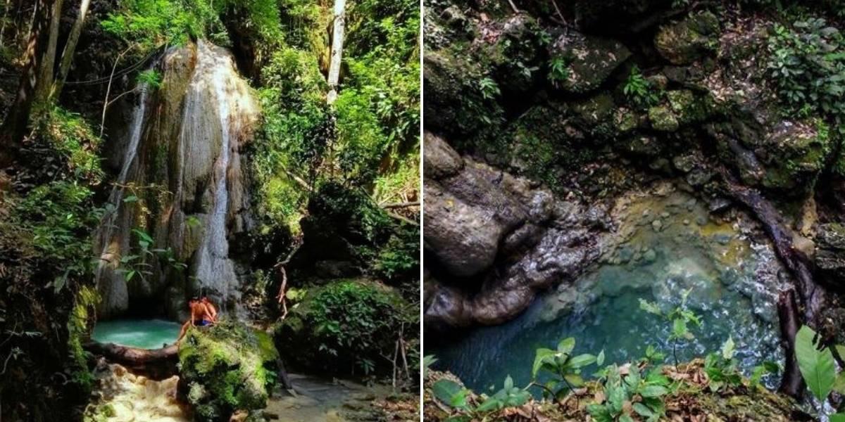 (FOTOS) La cascada de agua cristalina que hay en Colombia y muy pocos conocen