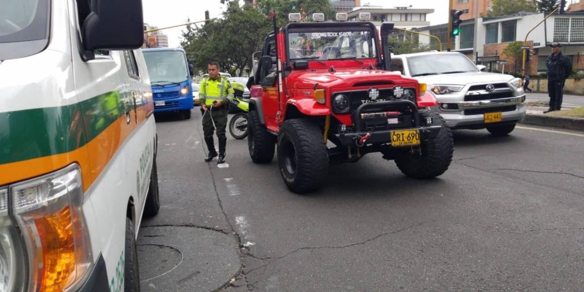 Esta sería la identidad del hombre que arrolló a un conductor del SITP en el norte de Bogotá
