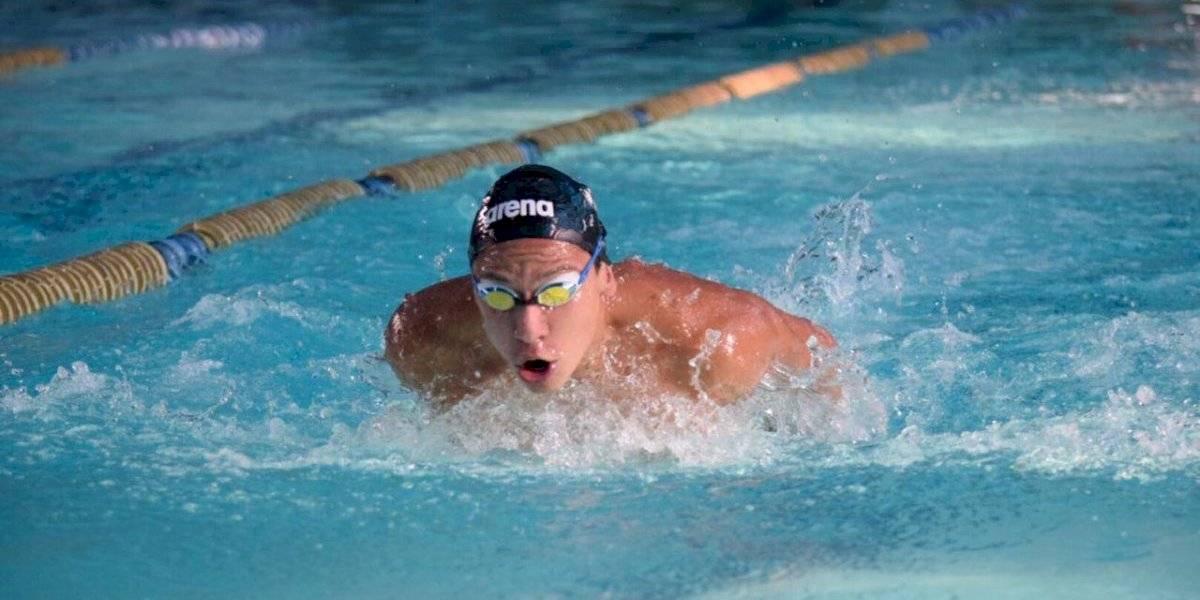El nadador Fernando Ponce sueña en grande para el Mundial Junior de Budapest