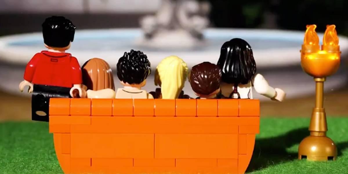 Lego anuncia coleção com personagens da série 'Friends'