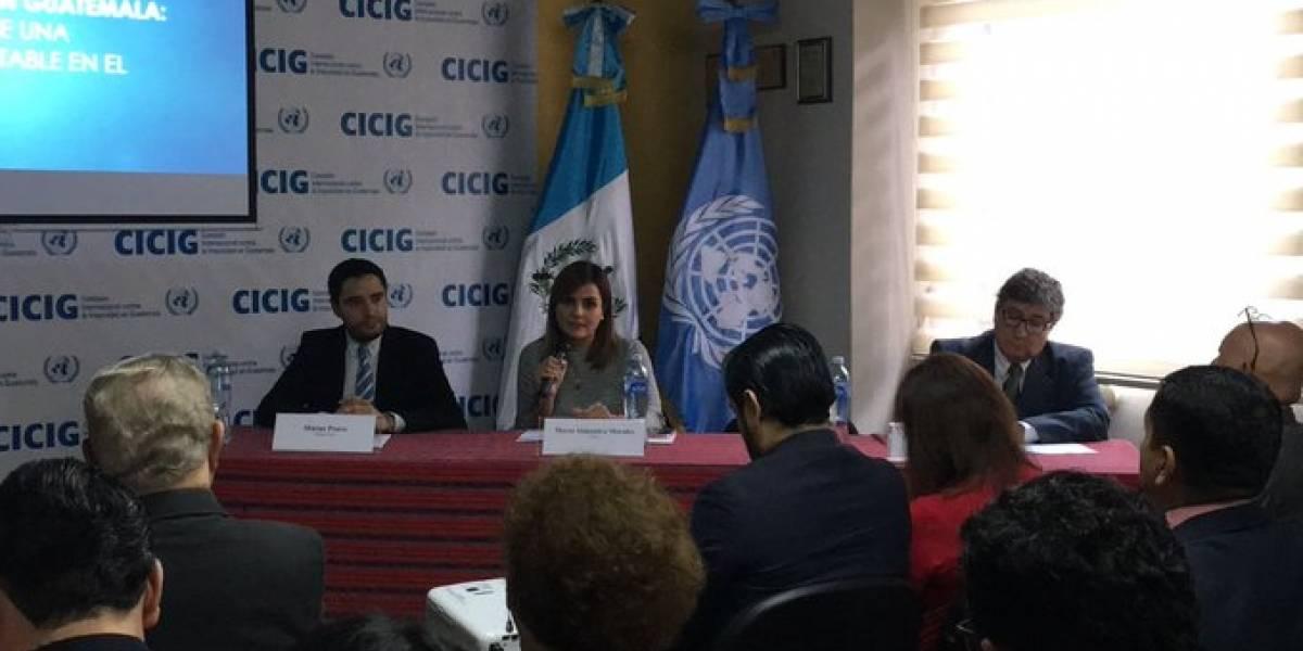 """Informe de CICIG destaca uso de plazas laborales en el Estado como """"moneda de cambio"""""""
