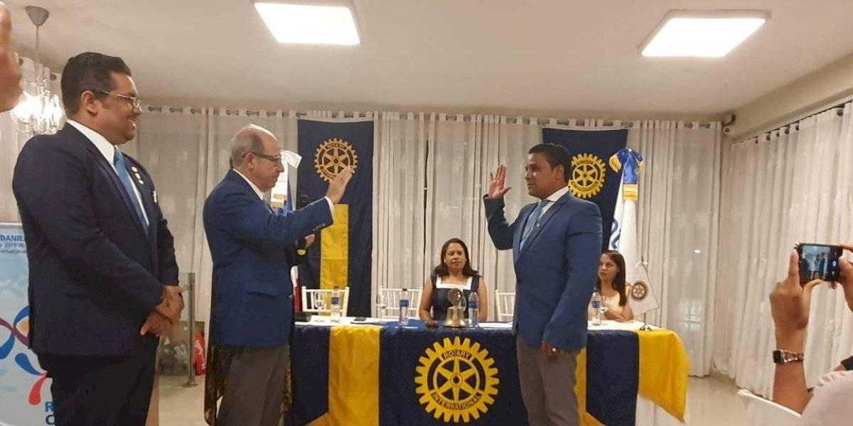 Rotary Club San Cristóbal juramenta nueva directiva