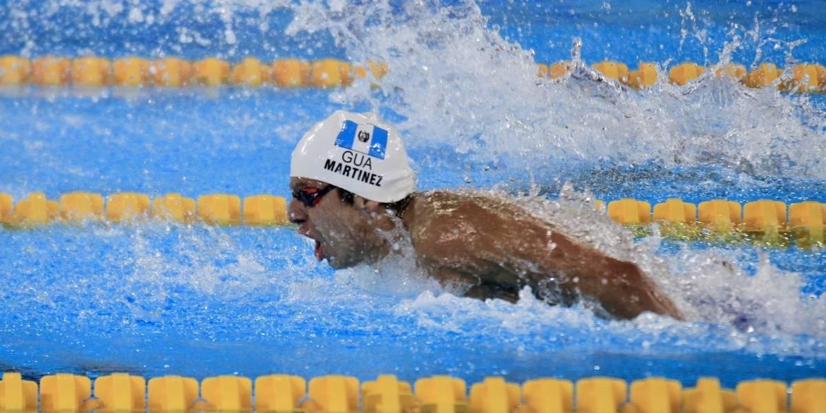 Nadador guatemalteco bate récord de estadounidense en Juegos Panamericanos