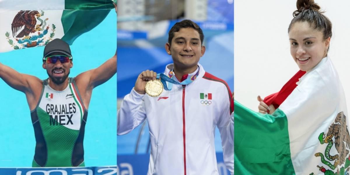 México supera marca histórica de medallas de oro fuera de casa