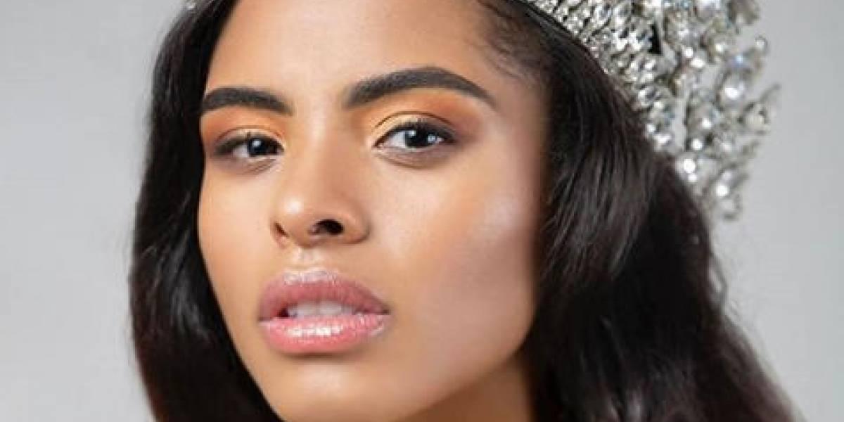 """""""Miss Haití"""" es mitad congoleña y mitad dominicana"""
