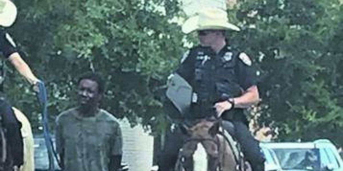 Polémica foto que recuerda la esclavitud indigna a EEUU