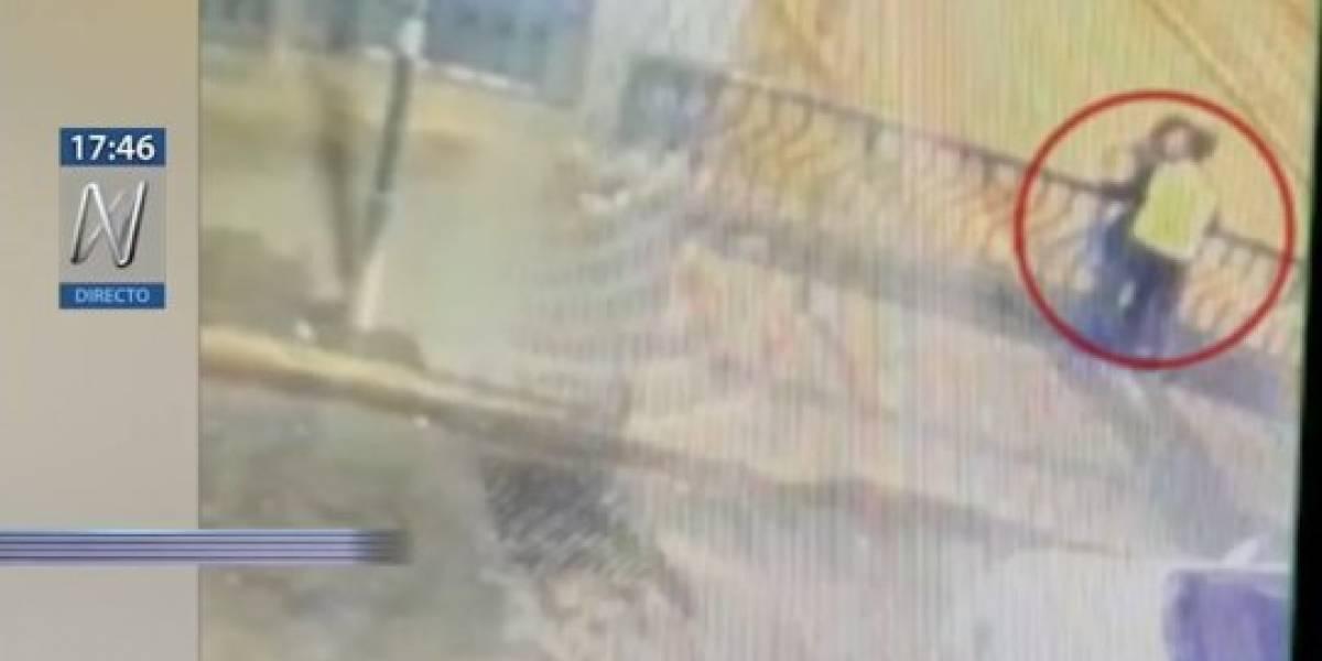 VÍDEO: Casal morre após cair de viaduto enquanto namorava