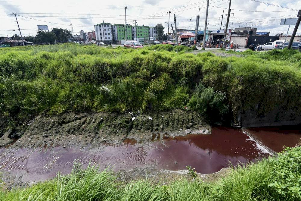 Al Río Verdiguel se arrojan los desechos el rastro municipal Foto: Cuartoscuro