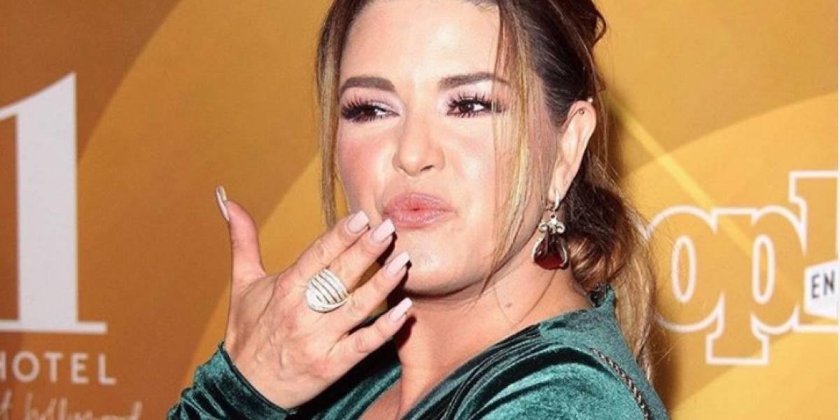 ¡Eso dolió! Exponen sobrepeso de Alicia Machado en Hoy