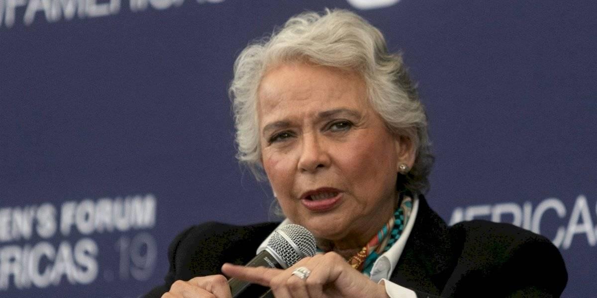 Exhorto de AMLO a partidos políticos es una sugerencia: Sánchez Cordero