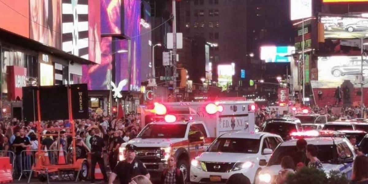 VIDEO. Falsa alarma de tiroteo provoca estampida en Times Square