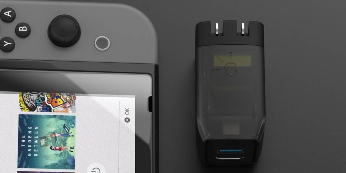 Este dock portátil para la Nintendo Switch es la mejor idea que ha salido de Kickstarter