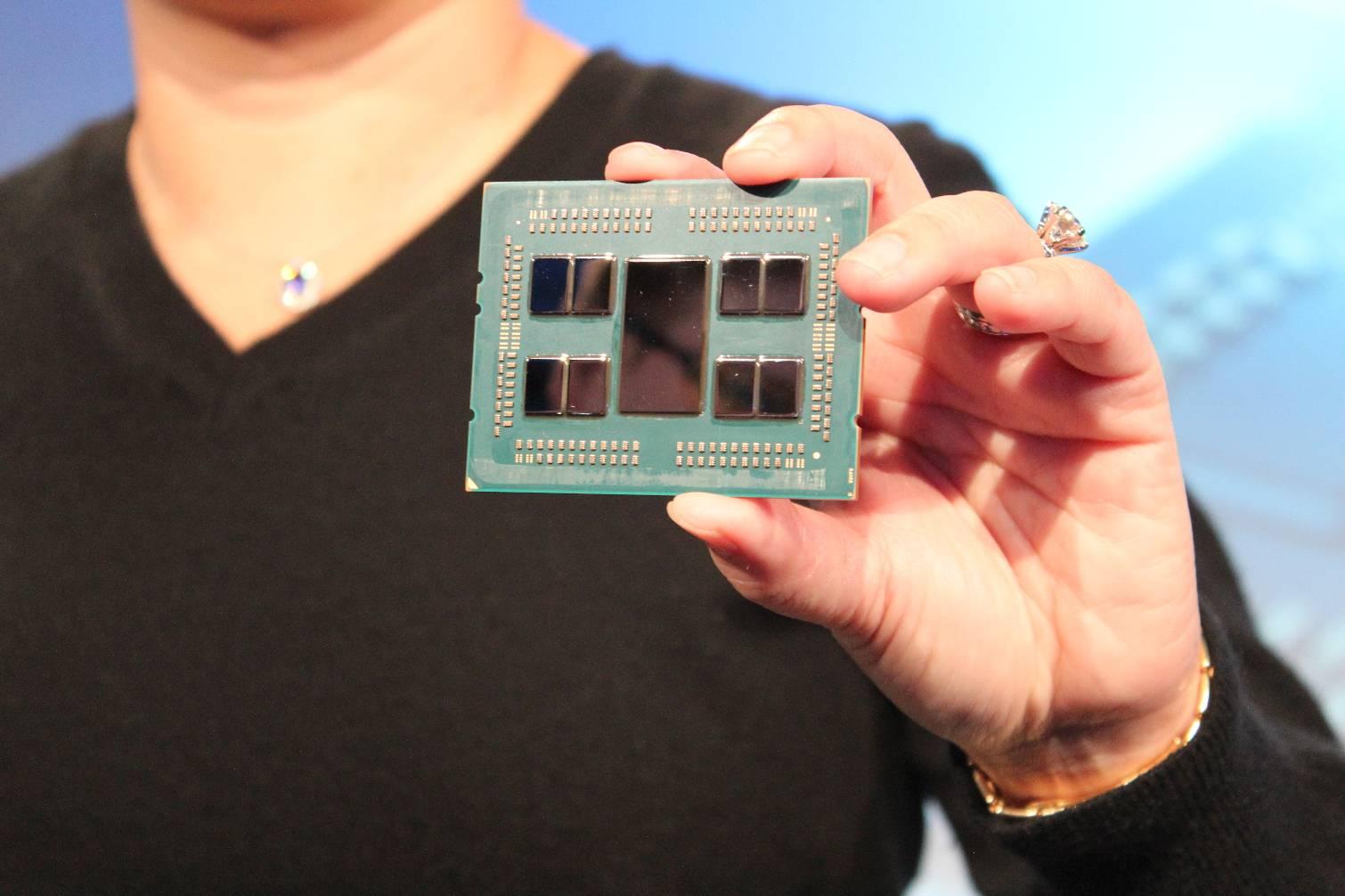 AMD presenta sus procesadores EPYC Rome para servidores, sobre proceso de 7 nanómetros