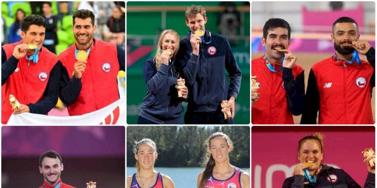 Chile dorado: Todas las medallas de oro del deporte nacional en Juegos Panamericanos