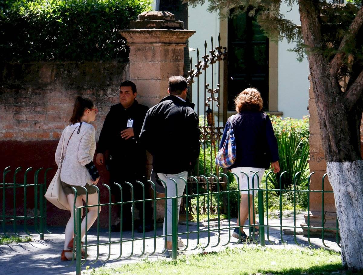 Escenas del Rancho San Cristóbal, horas antes después del intento de agresión Foto: Cuartoscuro