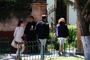 Escenas del Rancho San Cristóbal, horas antes después del intento de agresión