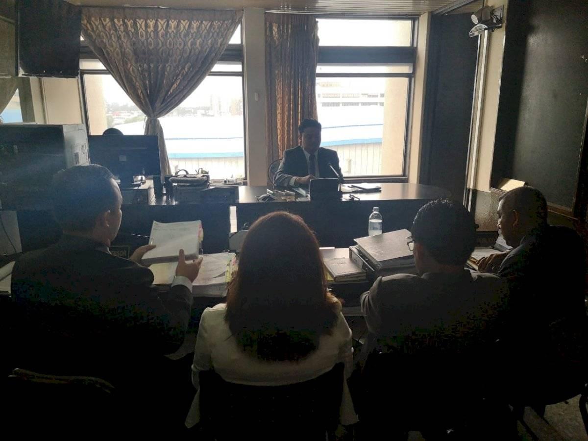 audiencia de primera declaración de exdirector de Informática, Gustavo Castillo