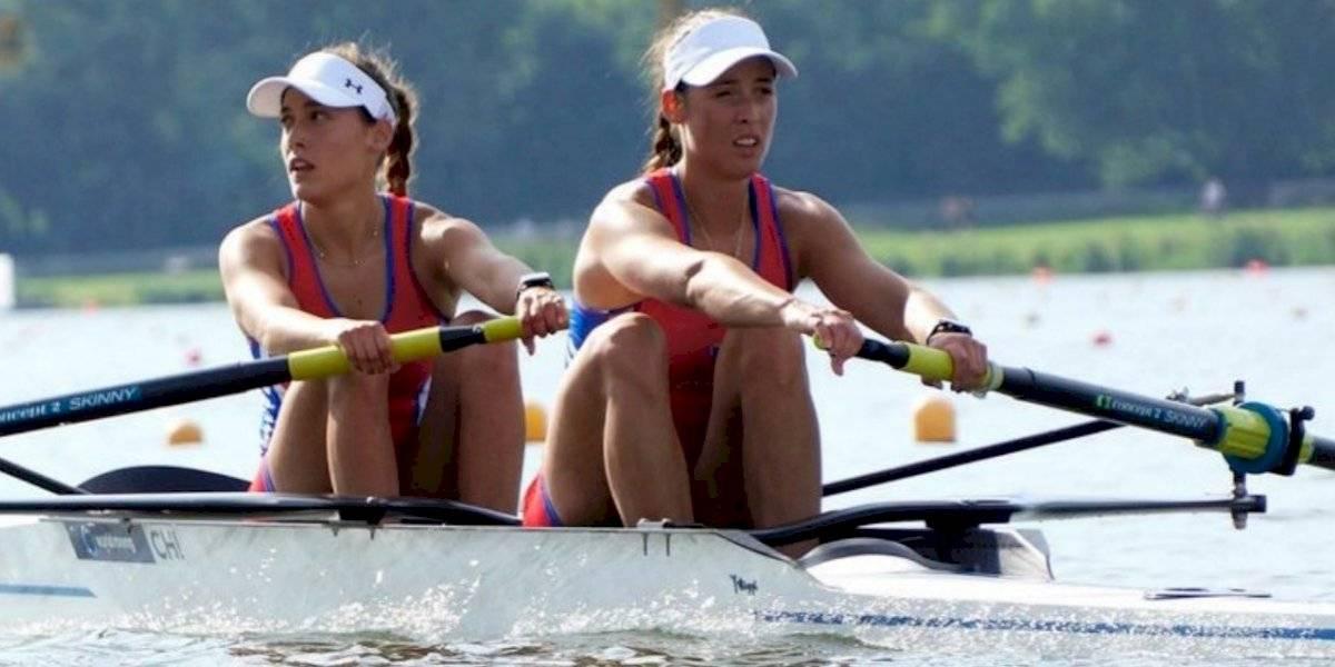 Las hermanas Abraham reman con el alma y le dan el sexto oro a Chile en los Panamericanos