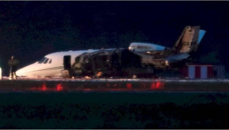 Se estrelló el avión privado de Pink REUTERS