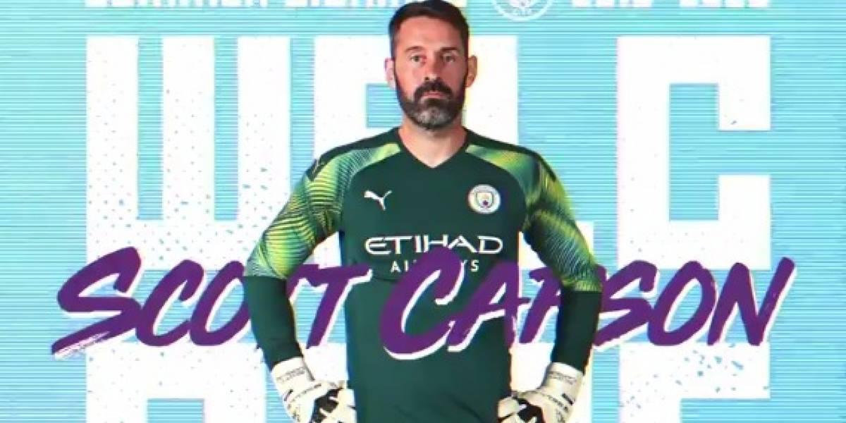 ¿Y Claudio Bravo? Manchester City confirma el fichaje de última hora de un tercer arquero