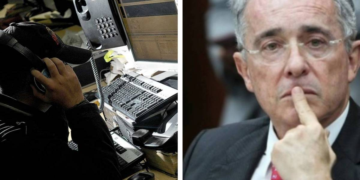 """CeDemocrático explicó por qué la voz de Uribe se oía """"débil"""" en llamada a su abogado"""