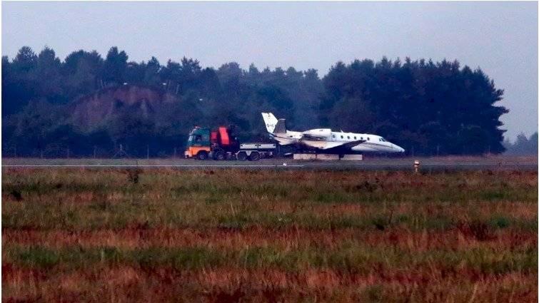 Se estrelló el avión privado de Pink AFP