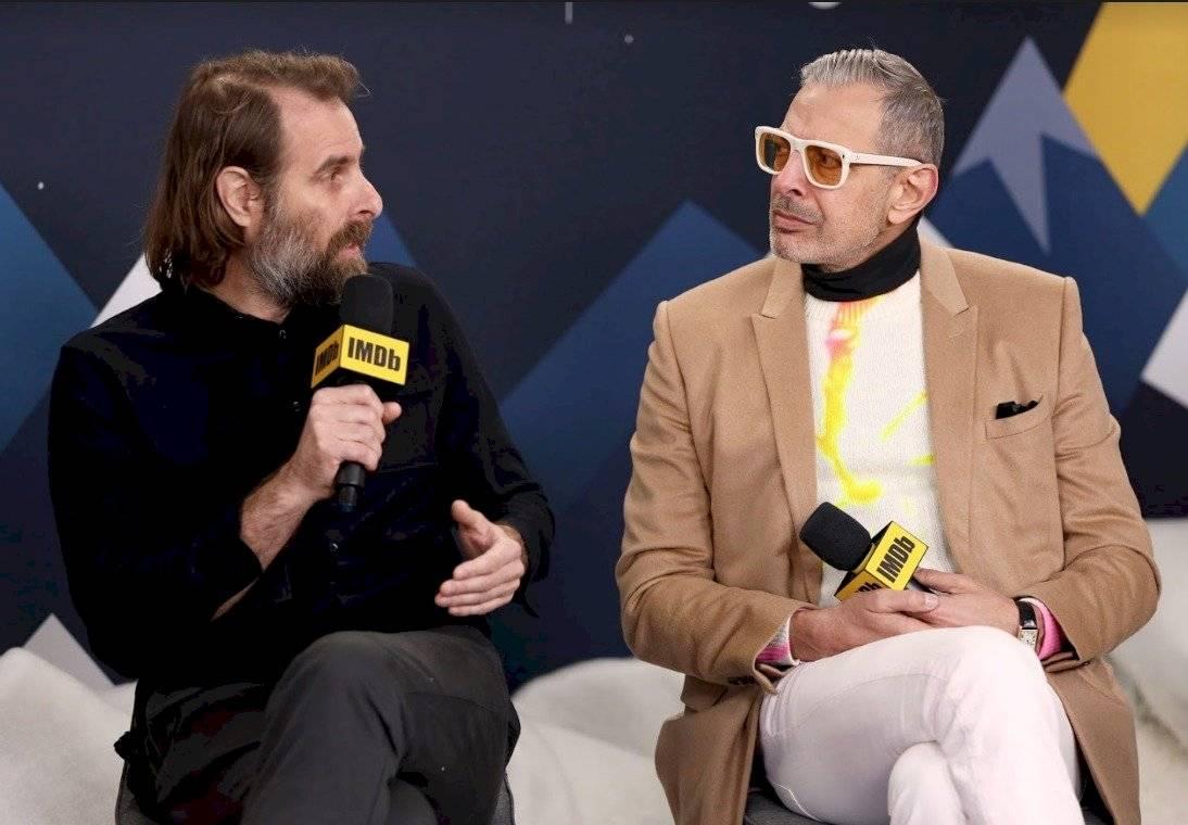 Jeff Goldblum y Rick Alverson