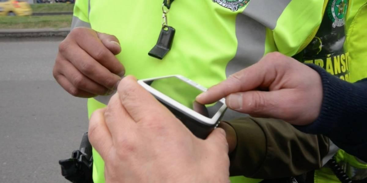 Policía de Tránsito adquiere nuevos equipos para imponer comparendos en Bogotá