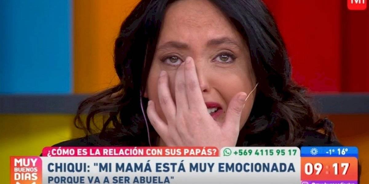 """""""Volví a ser una guagua"""": Chiqui Aguayo se emocionó al recordar el apoyo de su madre en difícil momento"""