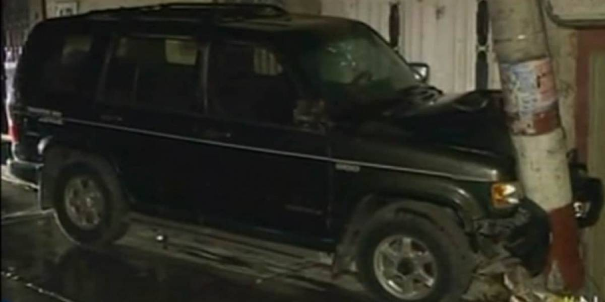 Choque vehicular generó incendio que consumió un apartamento en Bogotá