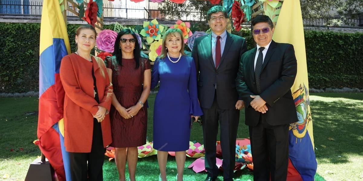 Embajada de Colombia en Ecuador conmemoró el Bicentenario de la Independencia Nacional