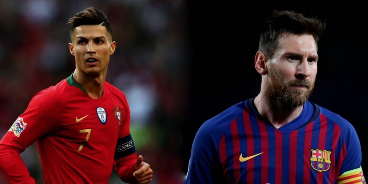 Cristiano y Messi, nominados a los premios de la Champions League