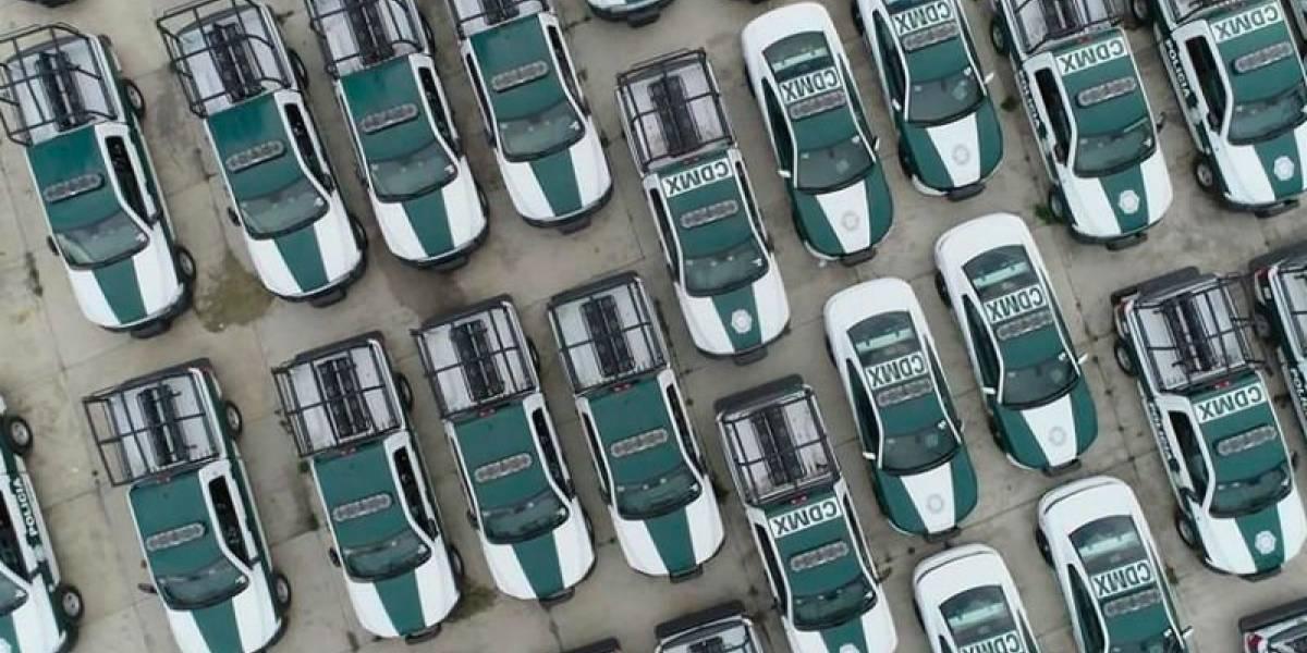 Las patrullas en la CDMX tienen tecnología de detección de rostro y de vehículos robados