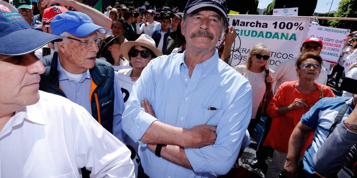 Renuncia Vicente Fox a seguridad otorgada por López Obrador