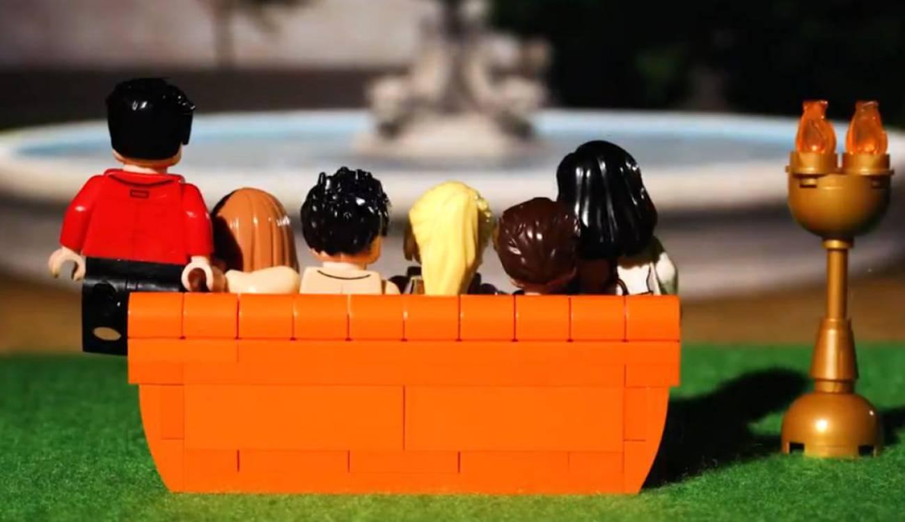 """Para todos los nostálgicos: Lego anuncia edición especial inspirada en serie """"Friends"""""""