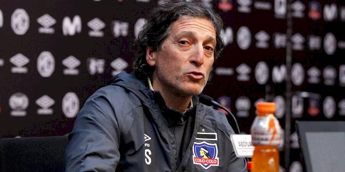 Mario Salas estudia cambiar el esquema de Colo Colo ante O'Higgins y valida opción de renovar a Jorge Valdivia