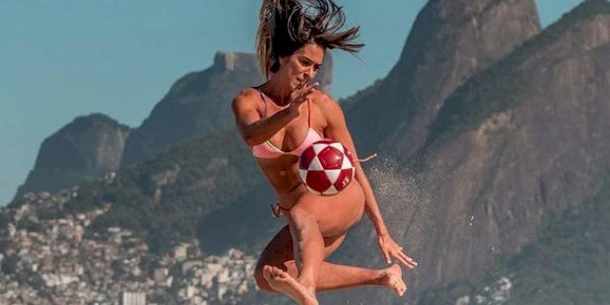Natalia Guitler, la reina brasileña del futvoley