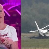 Se estrelló el avión privado de Pink al aterrizar en Dinamarca